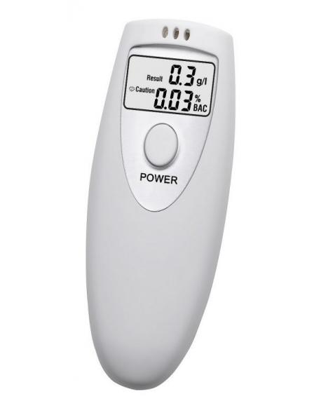 Digitální dechový alkohol tester s poutkem na ruku