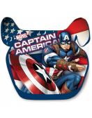 Autosedačka podsedák (II,III) 15 - 36 kg - Captain America