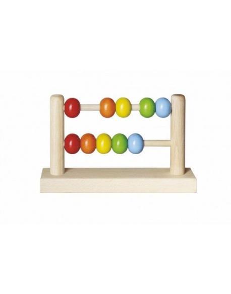 Počítadlo kuličkové dřevěné 19x11,5cm