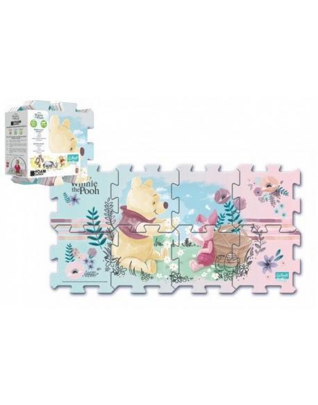 Pěnové puzzle Medvídek Pú 32 x 32 x 1 cm 8 ks