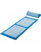 Akupresurní podložka s polštářem MOVIT 130 x 50 cm - světle modrá