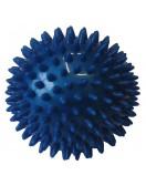 Míček masážní 9 cm modrý
