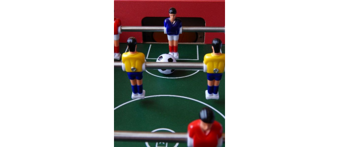 Uspořádejte turnaj ve stolním fotbale
